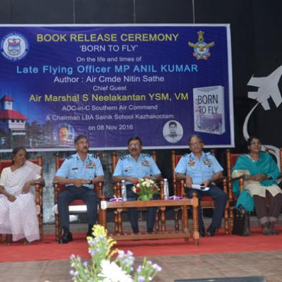 Born to Fly- Book launch