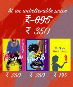 The Best Friend+ The Jerk Magnet+ Ifs Buts Going Nuts  (MRP - 695)  - Offer Price – Rs 350