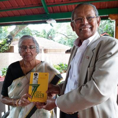 Book Signing 77 Shades of Green by Wing Commander KM Vijayan
