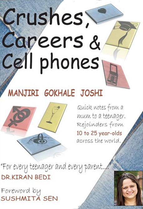 Crushes, Careers & Cell Phones Book Cover, Vitasta Publishing