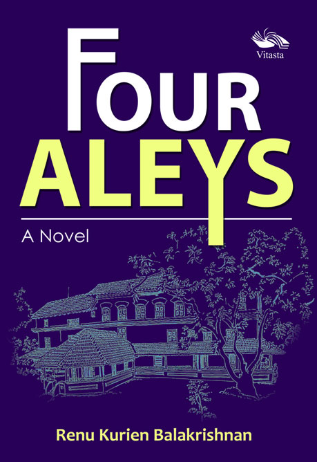 Four Aleys - A Novel Book Cover, Vitasta Publishing