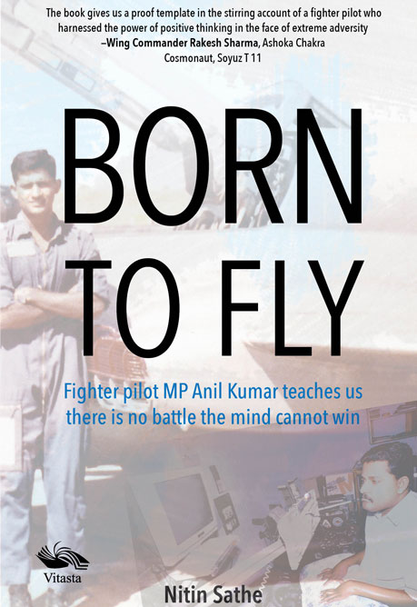 Born to Fly book cover, vitasta publishing