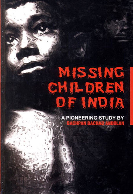 Missing Children Of India Book Cover, Vitasta Publishing