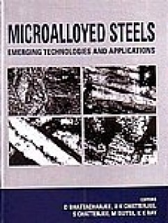 Microalloyed Steels Emerging Technologies and Applications Book Cover