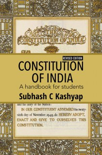 CONSTITUTION  OF INDIA: A handbook for students
