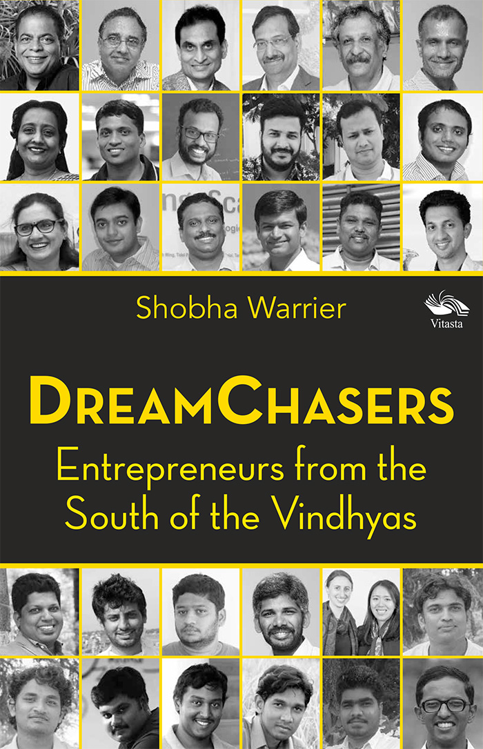 Dreamchasers - Shobha Warrier Book Cover